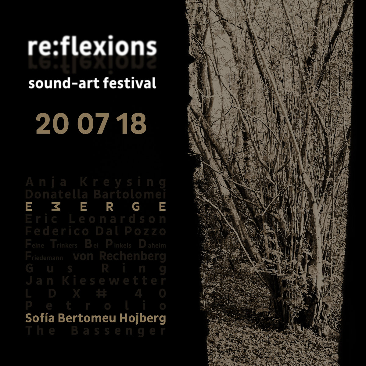 Sofia Bertomeu Hojberg & EMERGE – live @ re​​:​​flexions sound​​-​​art festival