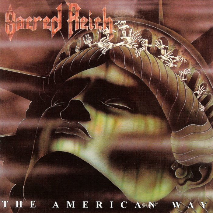 Image result for Sacred Reich – The American Way