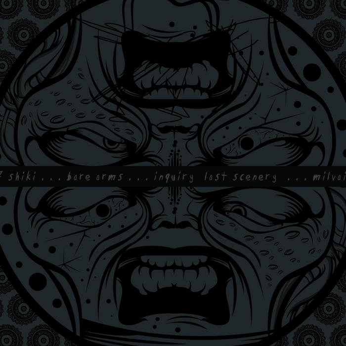 97-SHIKI / BARE ARMS / MILVAINS / INQUIRY LAST SCENERY – 4 Way Split CD
