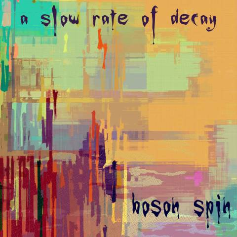 Boson Spin – A Slow Rate of Decay