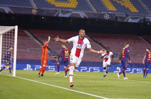 PSG Goleó al Barcelona