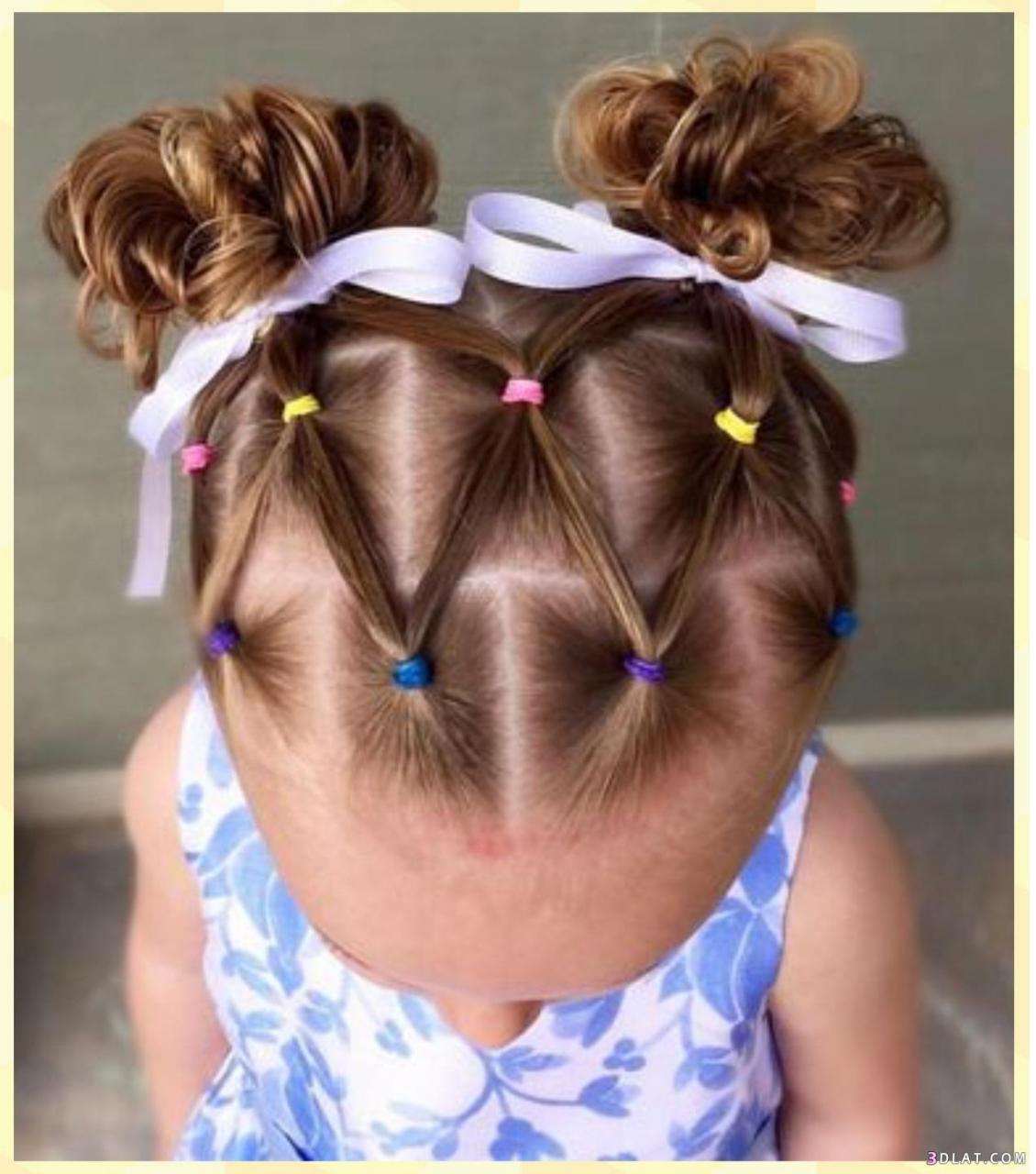 تسريحات شعر للاطفال للعيد تسريحات شعر للبنوتات الصغار افخم فخمه