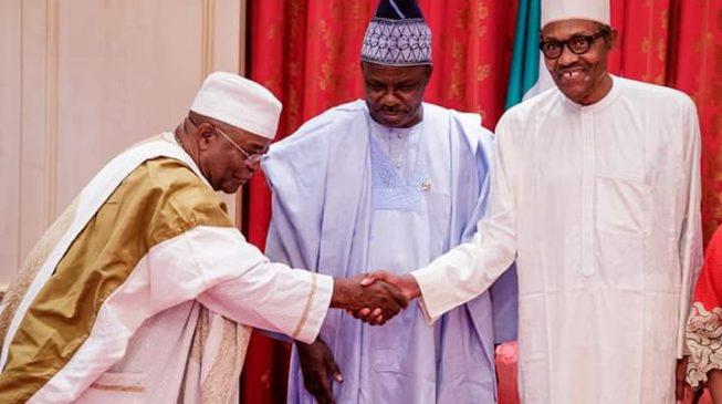 Image result for Amosun monarchs Buhari – APC