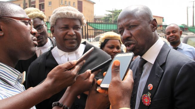 Image result for I have only one house – Ibrahim Magu tells court