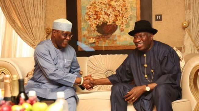 Image result for Vote Atiku so we can all have food to eat, says Jonathan