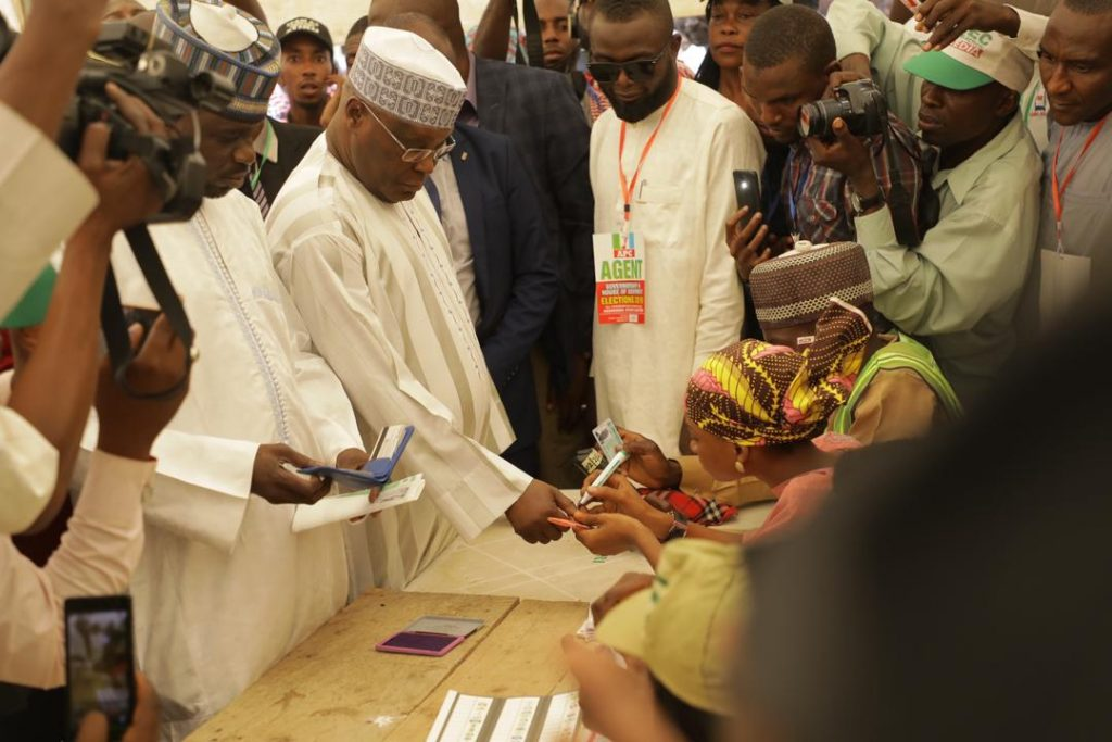 Image result for I don't think my vote will count, says Atiku