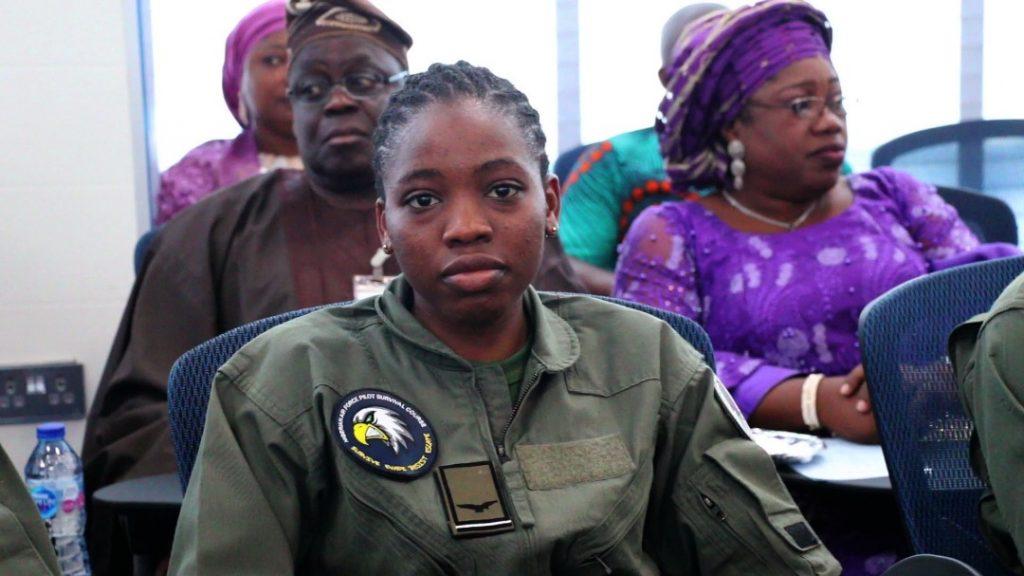 NAF Decorates Kafayat Sanni & Tolulope Arotile As Female Combatant Pilots 3
