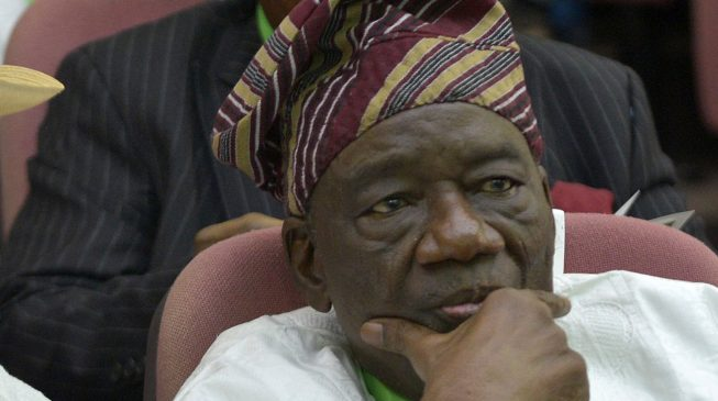 Richard Akinjide buried privately in Ibadan | TheCable