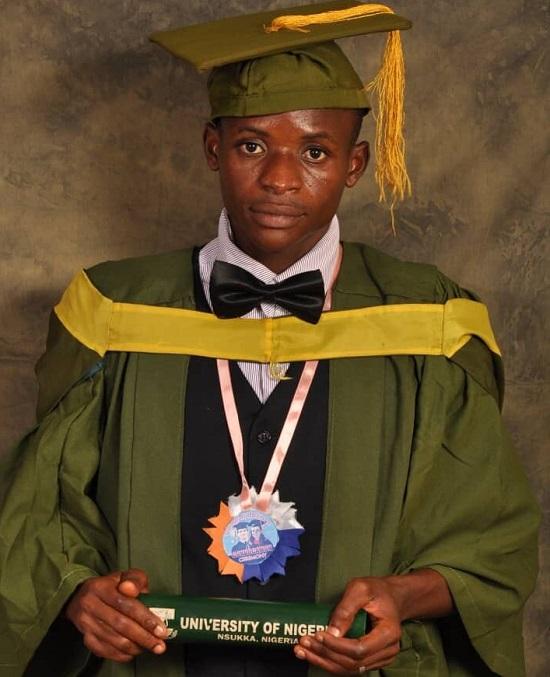 Nigeria is killing dreams - first-class graduate of Mathematics
