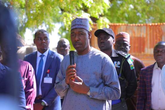 """Zulum celebrates soldiers """"Boko Haram never defeated"""""""