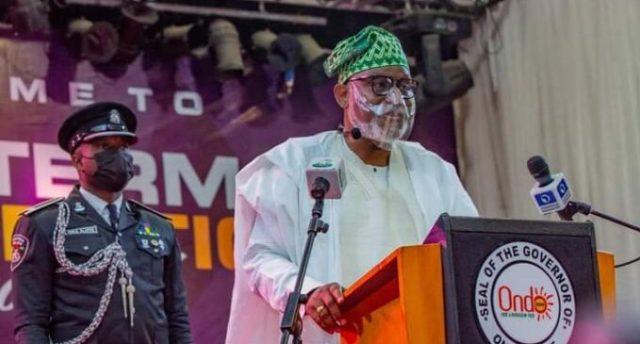 Gov Akeredolu tells Obaseki at  inauguration | TheCable