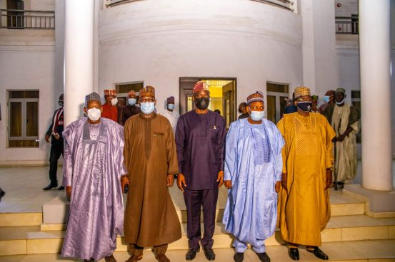 PHOTOS: Northern governors visited Makinda because of the Shasha crisis