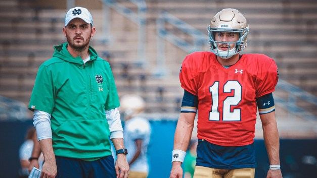 Tommy On The Spot: Competitive Rees Maxes QBs | Irish Sports Daily