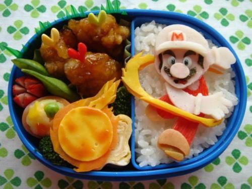 Super Mario bento madpakke