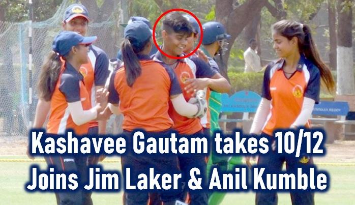 Chandigarh Under-19 Captain Kasvi Gautam Takes 10/10 Wickets