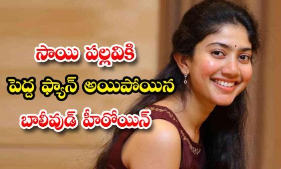 TeluguStop.com - Amrin Qureshi Favorite Heroine Sai Pallavi