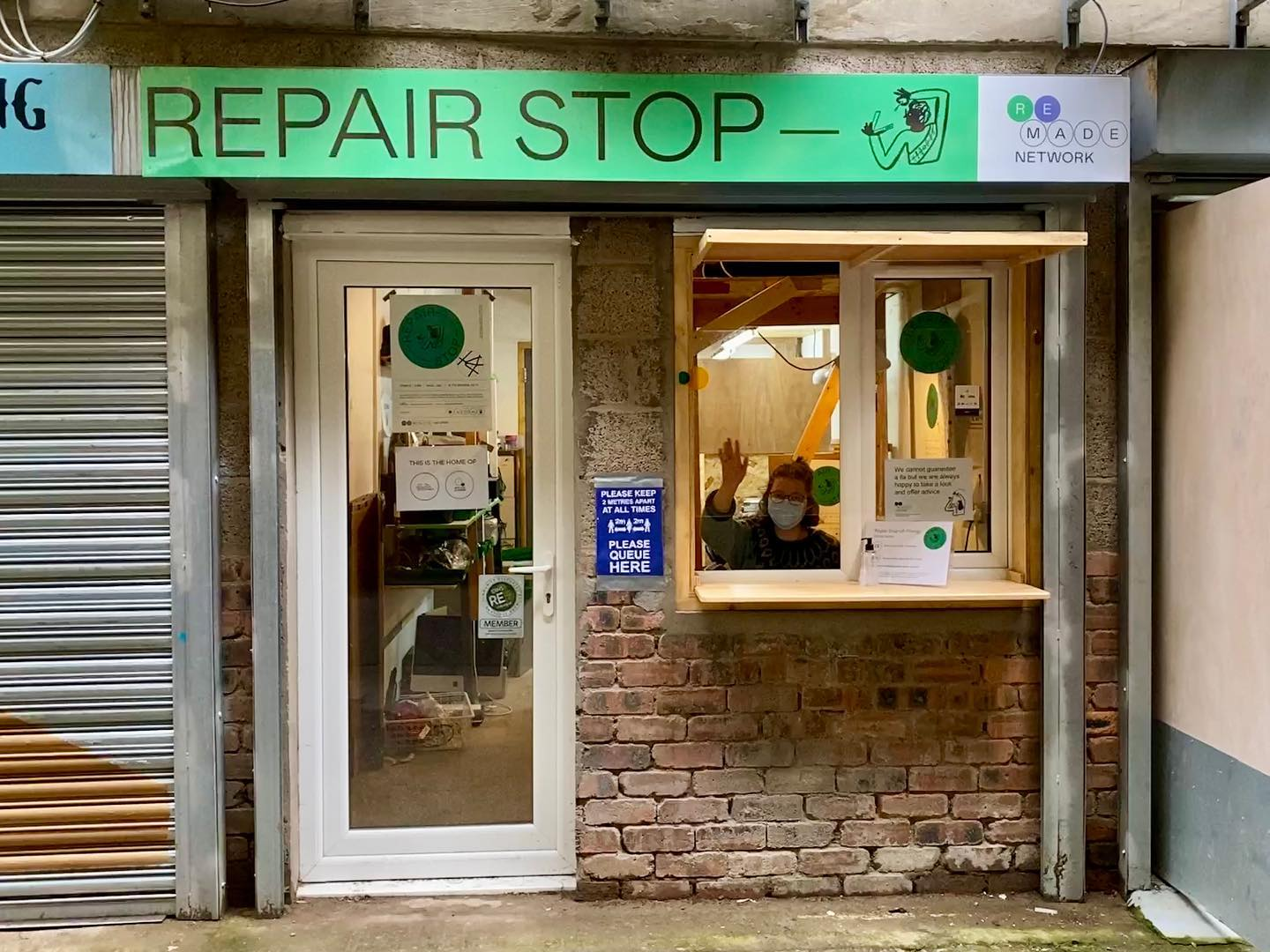 Finally made it to the Repair Stop