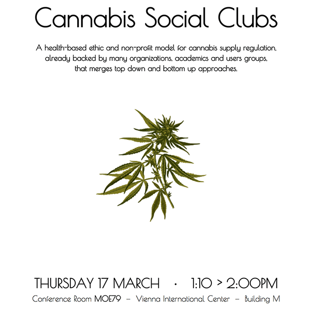 Conference « Introduction to Cannabis Social Clubs » at the UN