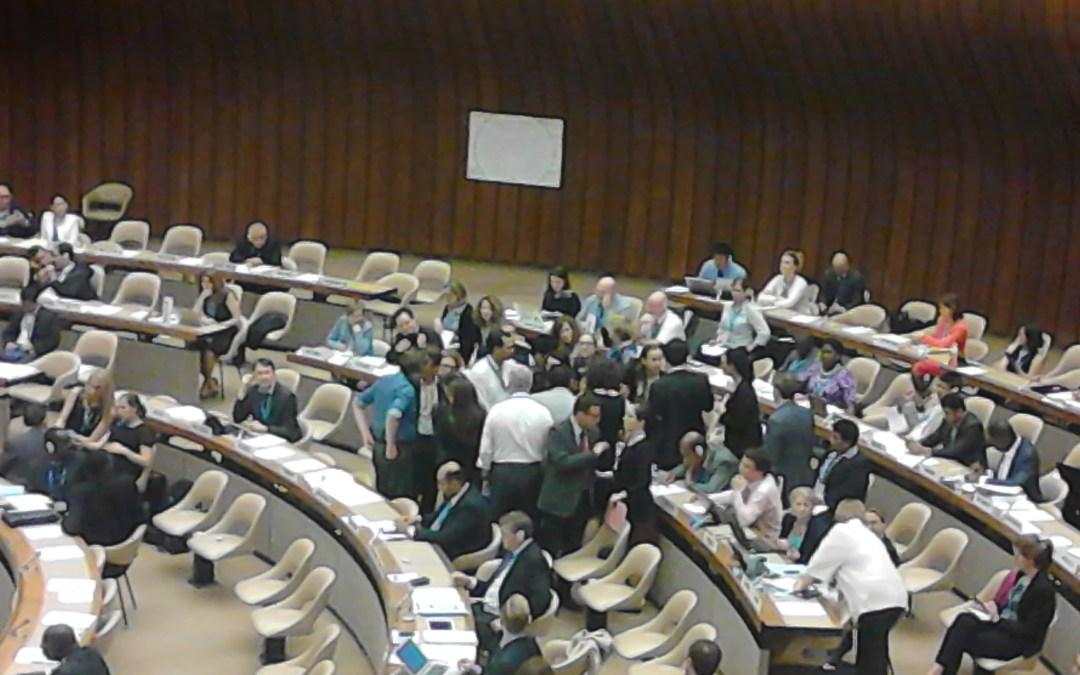 Actions à la 69ème Assemblée Mondiale de la Santé