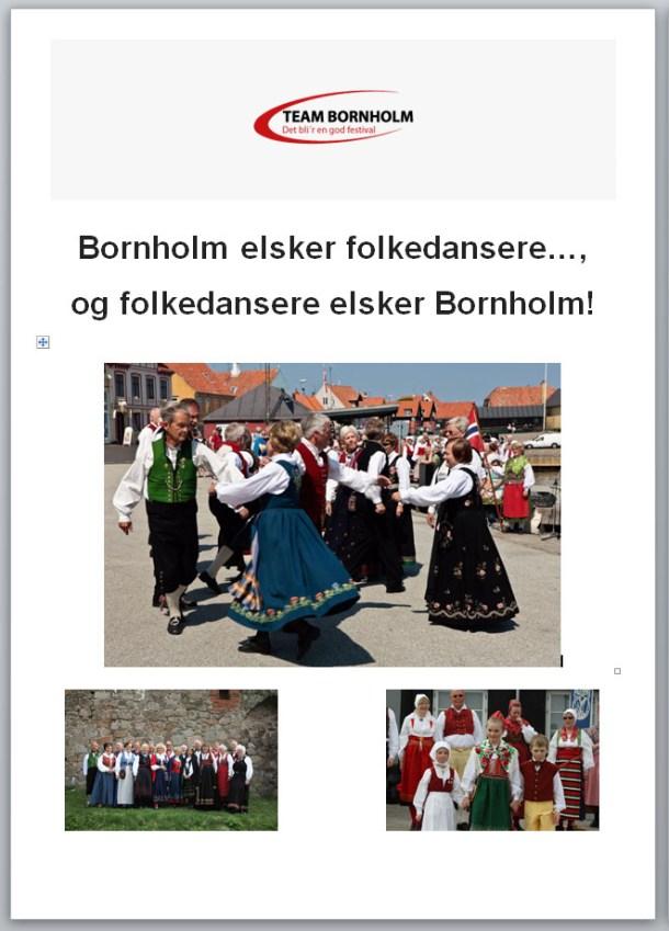 Dansefestival på Bornholm