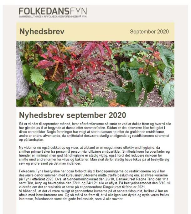 FolkedansFyn nyhedsbrev sept. 2020