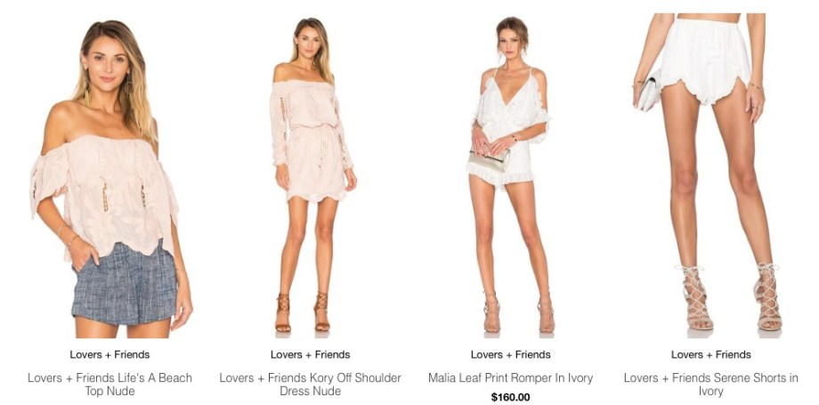 Lovers + Friends at ShopAA romper dress shorts top
