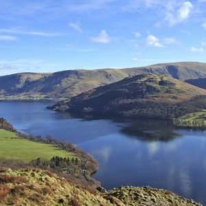 Northern end of Ullswater from Gowbarrow Fell