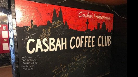 Beatles 3 hour tour of Liverpool by Taxi plus The Casbah Coffee Club