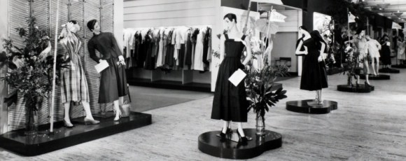Picture of a Lord & Taylor selling floor circa 1949.