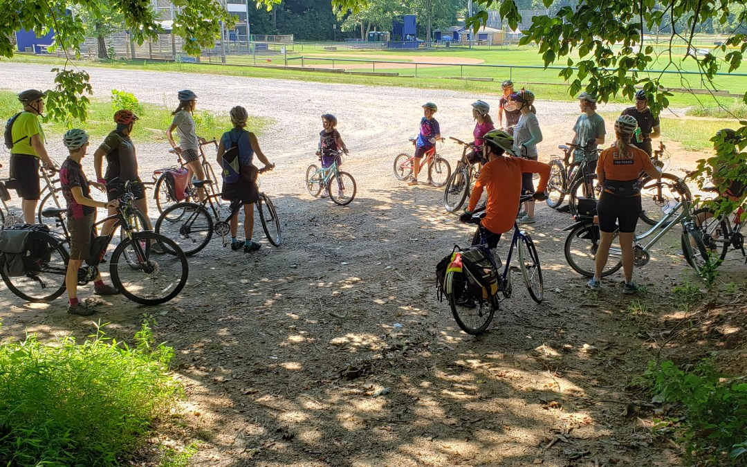 July Social Ride Highlights Treasured Park Trails