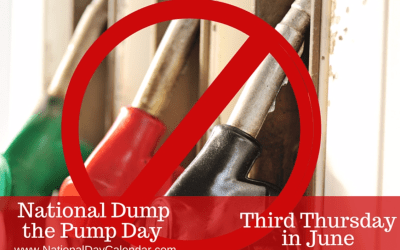 Join In On National Dump The Pump Day