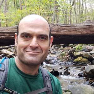 Shawn in the forest 2 300x300 - Meet FABB's New Social Media Coordinator