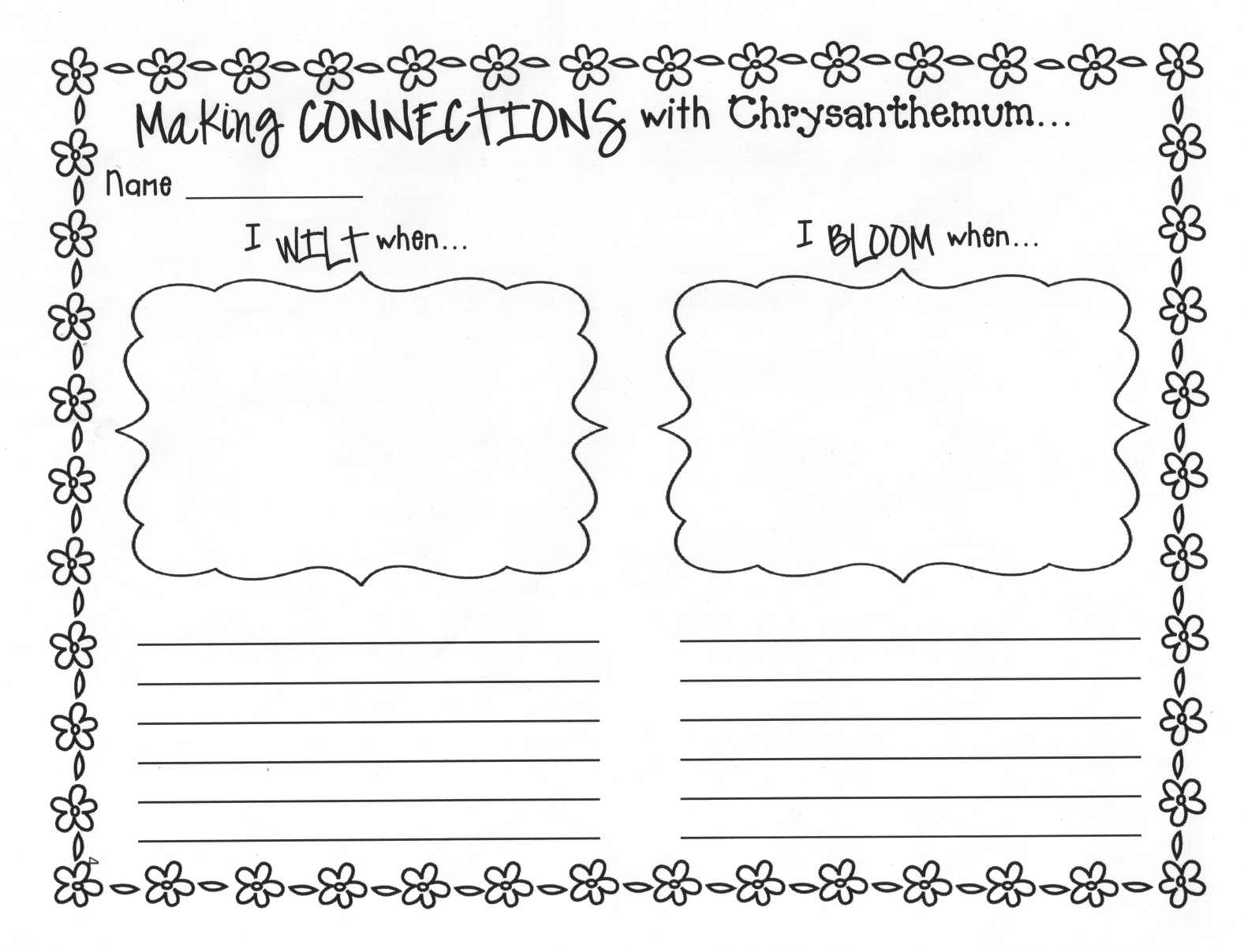 Worksheet For Kindergarteners