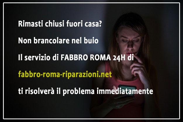 Servizio di fabbro Roma 24h