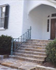 exterior stair rail 2