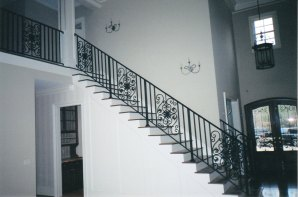 interior stair rail 3