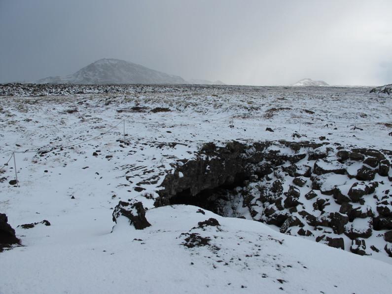 Lavacaves på Island