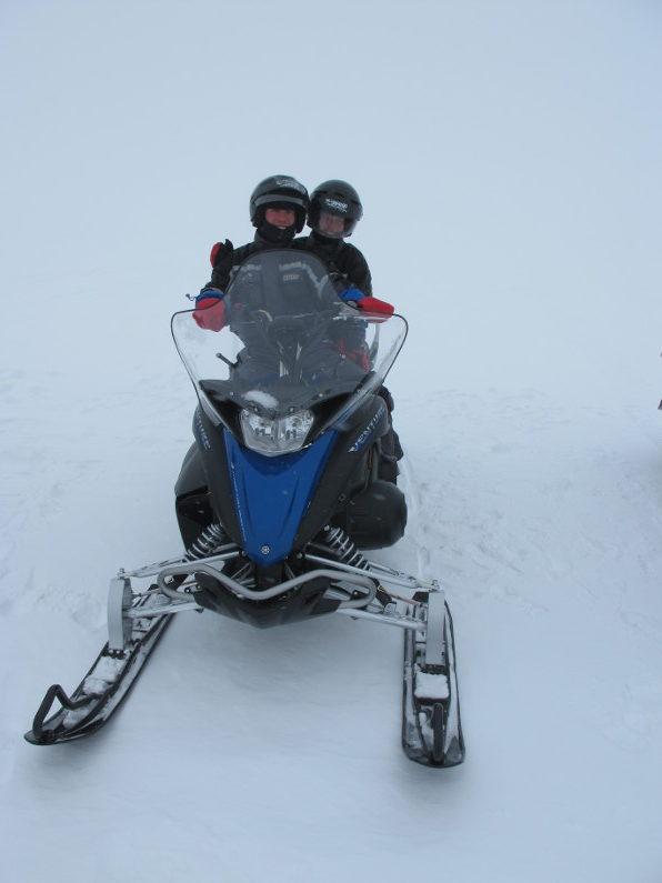 Snowmobile på Island