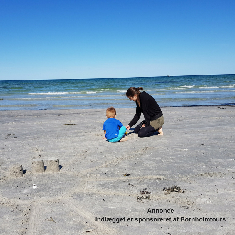 Rejseguide: Bornholm med små børn del 1 - Ankomst til Balka Strand + 3 tips til færgeturen med små børn