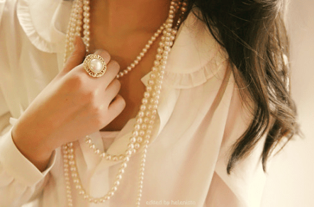 pearls for spring 2012