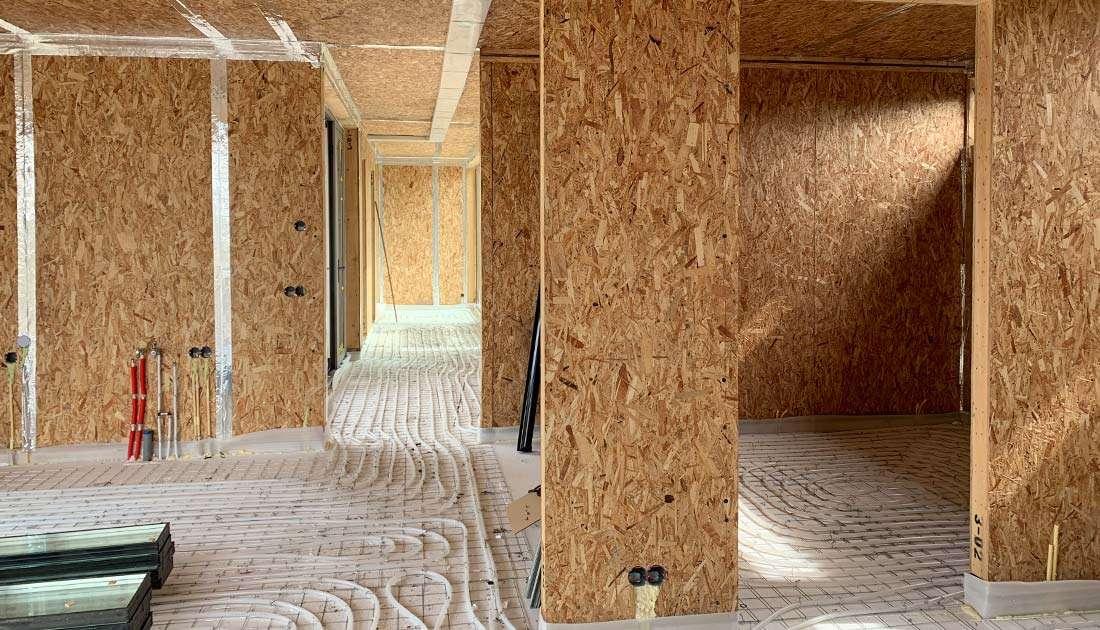 houten huis binnenkant