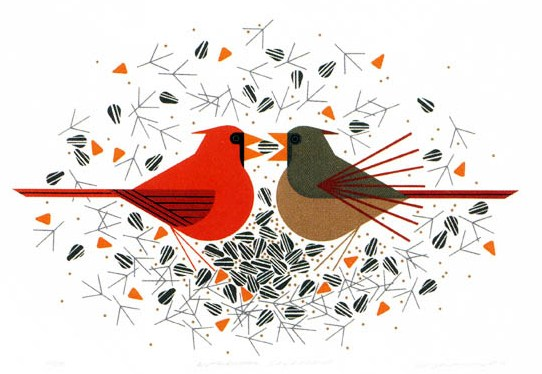 Last Chance To See Charley Harper In For The Birds Exhibit