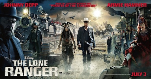 The Lone Ranger Movie Review and Giveaway