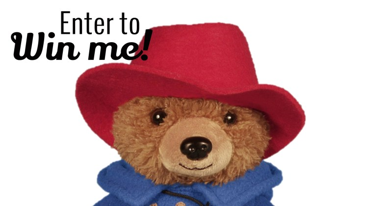 #Win 1 of 5 Official Paddington Plush Toys {#Giveaway}