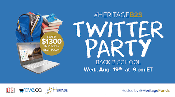 Get Ready for Back-to-School Season with #HeritageB2S