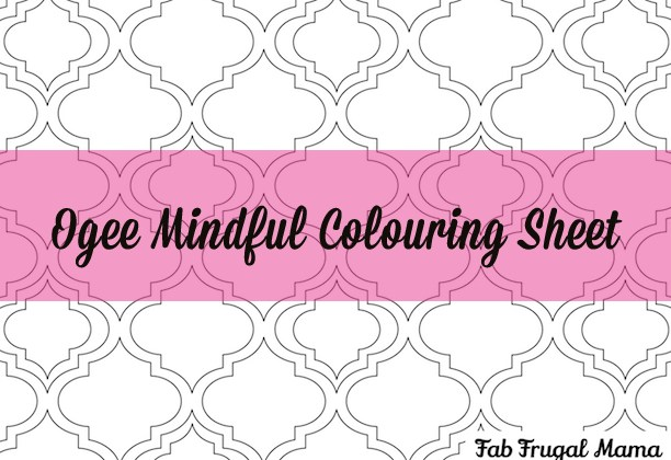 Mindful Colouring {Free Printable}