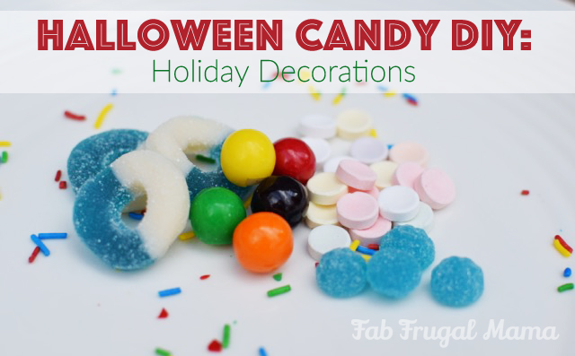 Leftover Halloween Candy DIY