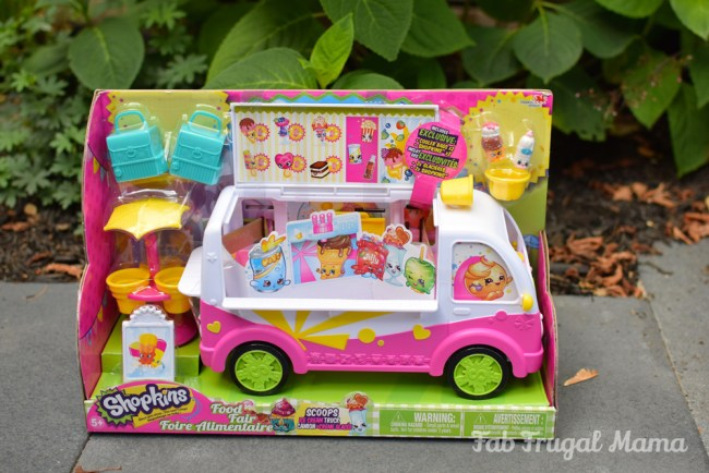 Shopkins Scoops Ice Cream Truck