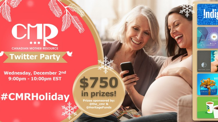It's Twitter Party Time! #CMRHoliday