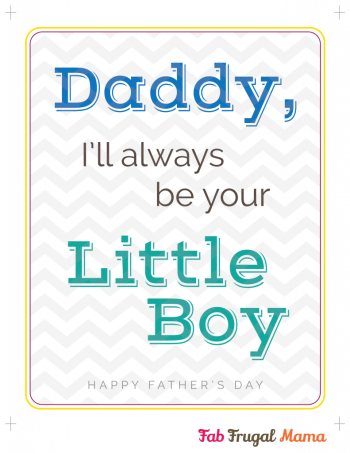 Fab Frugal Mama Father's Day printable v4-boy